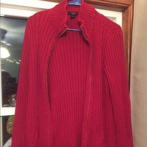 Chaps sweater/ cardigan